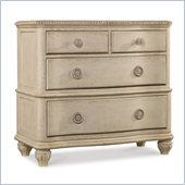 Hooker Furniture Primrose Hill Four-Drawer Bachelors Chest in Trellis White