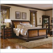Hooker Furniture Preston Ridge Sleigh 4 Piece Bedroom Set