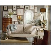 Hooker Furniture Primrose Hill White Shelter Bed 4 Piece Bedroom Set