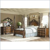 Hooker Furniture Beladora Poster Bed 4 Piece Bedroom Set