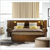 Hooker Furniture Felton 4 Piece Wall Bedroom Set