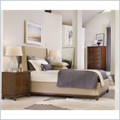Hooker Furniture Felton Upholstered Bed 4 Piece Bedroom Set