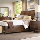 Hooker Furniture Felton Sleigh Bed 5 Piece Bedroom Set