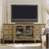Hooker Furniture Sanctuary Entertainment TV Console in Surf and Visage
