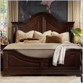Hooker Furniture Sheridan Panel Bed in Mahogany