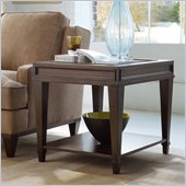 Hooker Furniture Ludlow End Table in Walnut