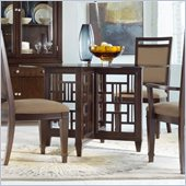 Hooker Furniture Ludlow Round Glass Top Dining Table