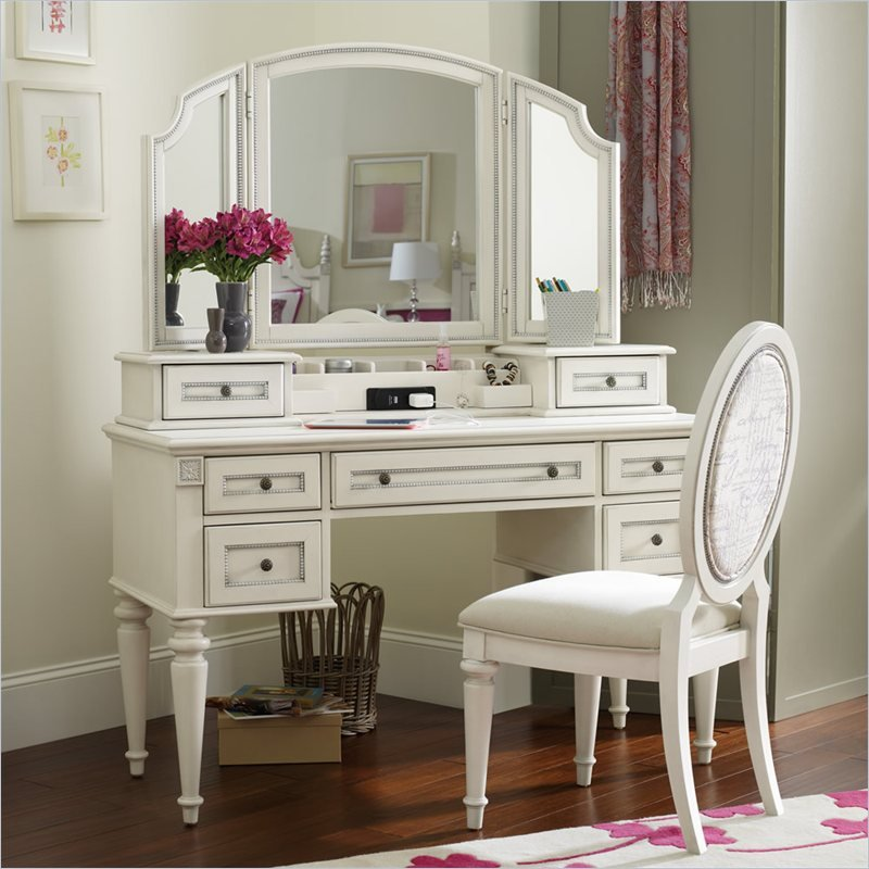 Hooker Furniture Opus Designs Claire Vanity Desk With