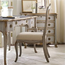 Hooker Furniture Desk Office Chair in Silver Leaf