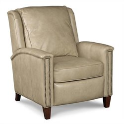 Hooker Furniture Leather Recliner Chair in Empyrean Tweed