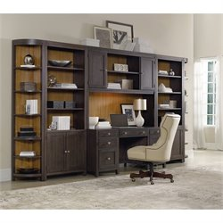 Hooker Furniture South Park Home Office Computer Desk in Dark Walnut