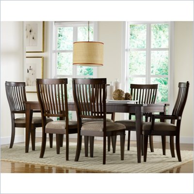 Hooker Furniture Abbott Place Rectangle Dining Table with Leaf