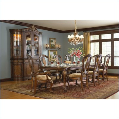Hooker Furniture Beladora Rectangle Dining Table in Caramel Finish