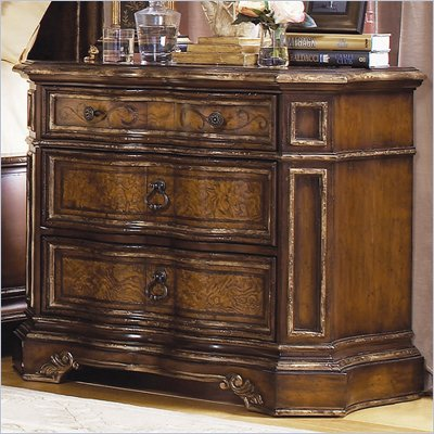 Hooker Furniture Beladora Nightstand in Caramel Finish