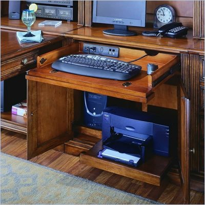 Hooker Furniture Brookhaven 32&quot; Computer Desk in Clear Cherry Finish
