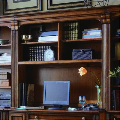 Hooker Furniture Brookhaven 48 Inch Hutch in Clear Cherry
