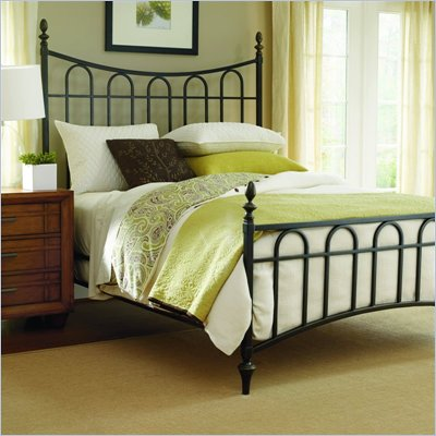 Hooker Furniture Chardonnay Queen Metal Decorator Bed