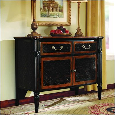 Hooker Furniture Glenhill Two-Door/Two-Drawer Black Chest