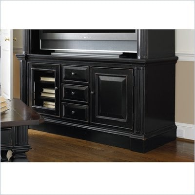 Hooker Furniture New Castle II Gaming Console 65&quot; in Rich Rubbed Black