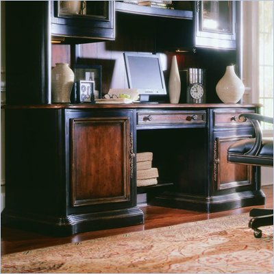 Hooker Furniture Preston Ridge Credenza in Cherry/Mahogany Finish
