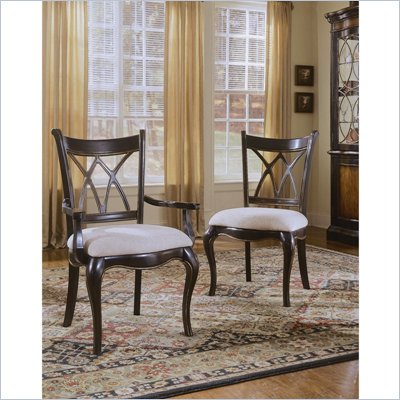 Hooker Furniture Preston Ridge Double X Back Side Chair with Cushion
