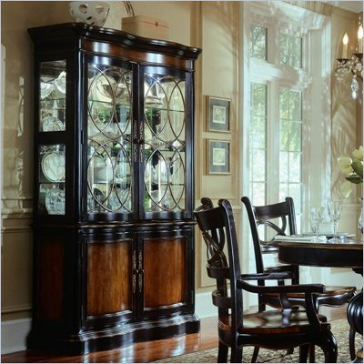 Hooker Furniture Preston Ridge Curio China in Cherry/Mahogany Finish