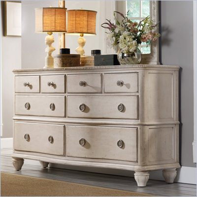 Hooker Furniture Primrose Hill Eight-Drawer Dresser in Trellis White
