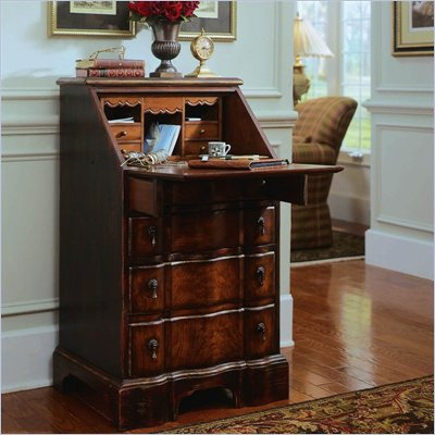Hooker Furniture Seven Seas Secretary Base w/ Black Antique Glaze