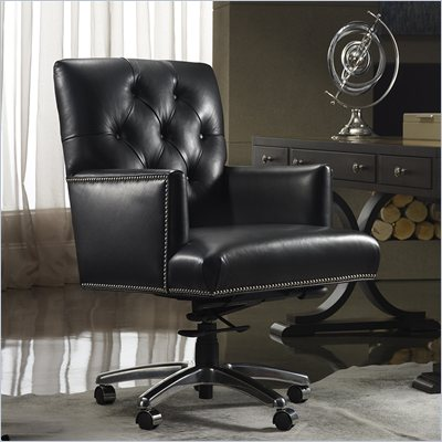 Hooker Furniture Seven Seas Executive Chair in Nouveau Black