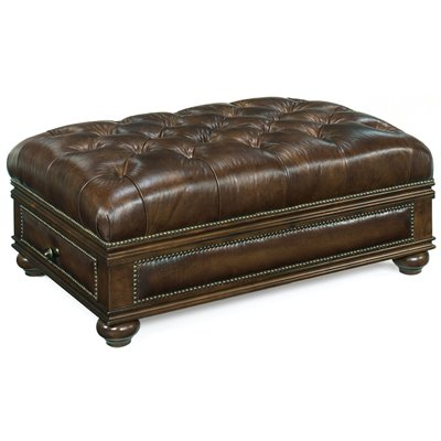 Hooker Furniture Seven Seas Drawer Ottoman in Constitution Justice