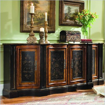 Hooker Furniture Vicenza 87&quot; Shaped Credenza