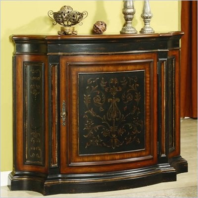 Hooker Furniture Vicenza Tall Waisted Shaped One-Door Chest