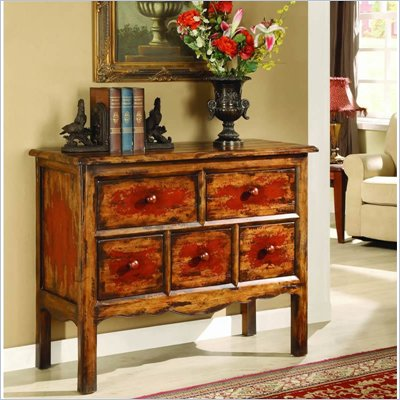 Hooker Furniture Vicenza Primitive Chest with Two sets of Pulls