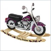 KidKraft Girls' Harley Davidson Roaring Softail Rocker