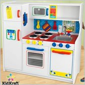 KidKraft Deluxe Let's Cook Kids Play Kitchen