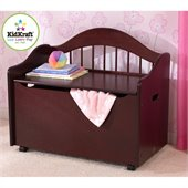 KidKraft Limited Edition Toy Chest/Box in Cherry