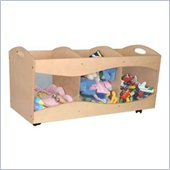 KidKraft See-Thru Storage Bin in Natural