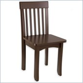 KidKraft Avalon Seating Chair in Chocolate