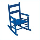 KidKraft 2-Slat Rocking Chair in Blue