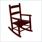 KidKraft 2-Slat Rocking Chair in Cherry