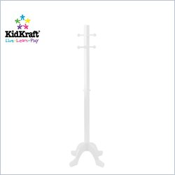 Kidkraft White Standing Coat Rack Picture