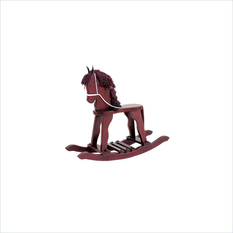 Furnishing Brand New KidKraft Derby Toy Rocking Horse In Cherry The Good