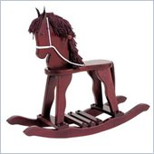KidKraft Derby Toy Rocking Horse in Cherry