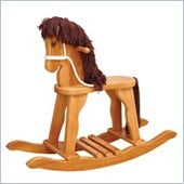 KidKraft Derby Toy Rocking Horse in Honey