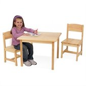 KidKraft Aspen 2-Chair Set in Natural
