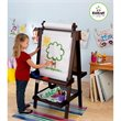 ADD TO YOUR SET: KidKraft Delux Wooden Easel in Espresso