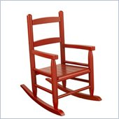 KidKraft 2-Slat Rocking Chair in Cranberry