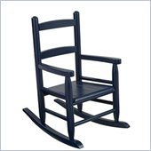 KidKraft 2-Slat Rocking Chair in Blueberry