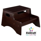 KidKraft Step 'N Store Step Stool in Espresso