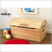 KidKraft Round Top Storage Chest Natural